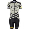guilty 76 racing Velo Club Pro Race Komplet Kobiety szary